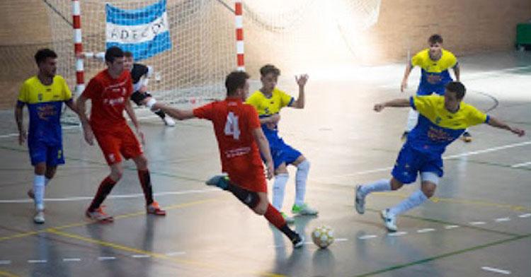 Una imagen del Bujalance en su partido contra Adecor. Foto: Bujalance FS