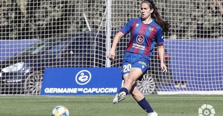 Rocío Gálvez en un partido de la pasada temporada. Foto: LFP