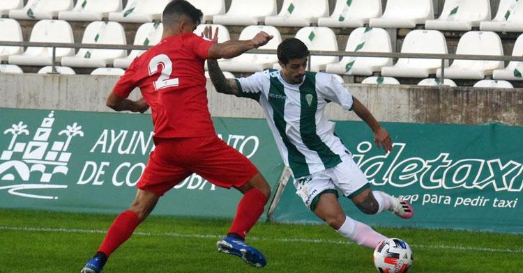 El Córdoba B mereció más ante el Sevilla C. Foto: CCF