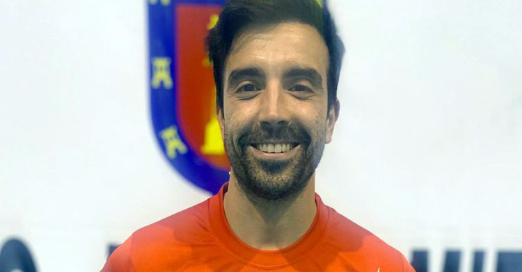 Jesús García, ya exjugador rojillo. Foto: Bujalance FS