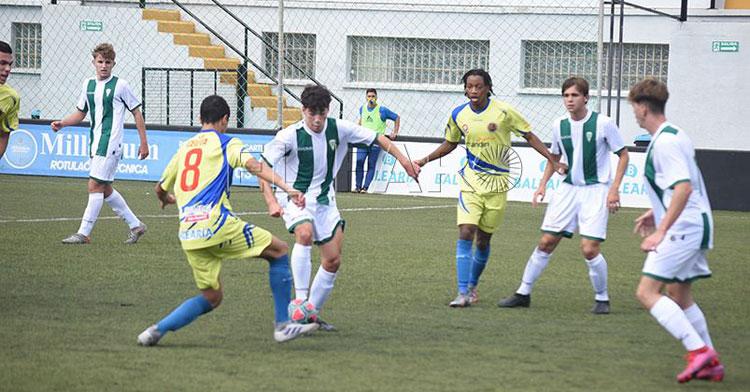 El fútbol base se va a ver muy afectado por las nuevas medidas sanitarias. Foto: El Faro de Ceuta