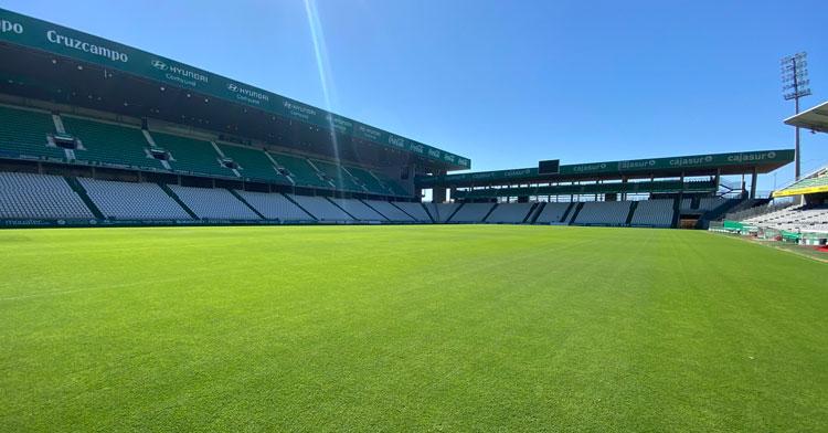 Una vista del Estadio El Arcángel. Foto: CCF