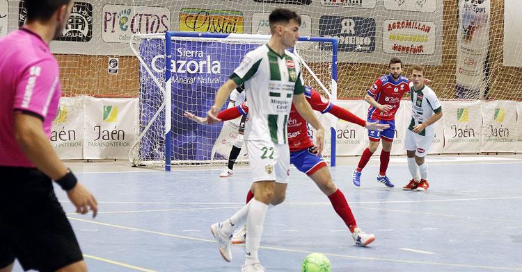 Ricardo en el partido en el Sebastián Moya Lorca. Foto: Software Delsol Mengíbar