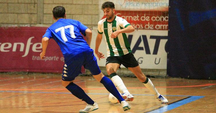 Zequi en el Real Betis Futsal-Córdoba Patrimonio de la Copa de Andalucía