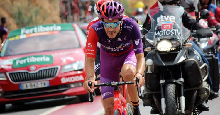 Jorge Cubero en una prueba ciclista. Foto: Photo Gómez Sport