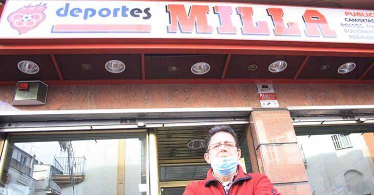 Deportes Milla sigue al pie del cañón con Antonio Milla al frente.