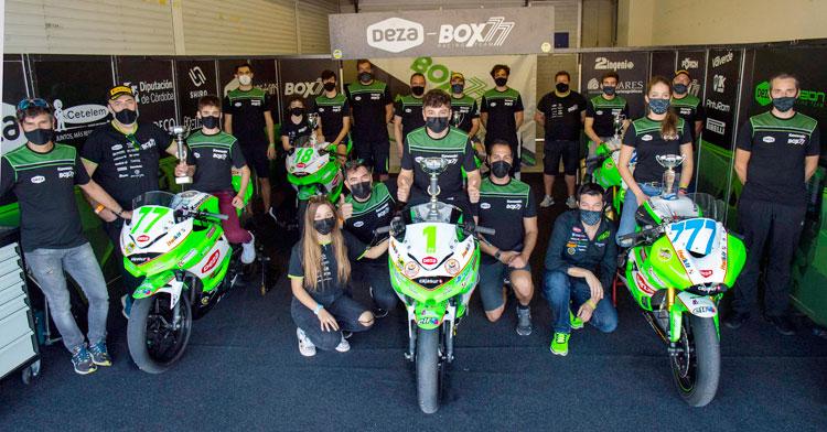 Las Balas Verdes y sus pilotos en foto de posado. Autor: Fernando Sotoca