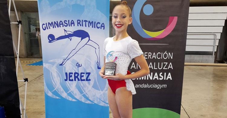 Gabriela Redondo, bronce con el Almodóvar en el Campeonato de Andalucía