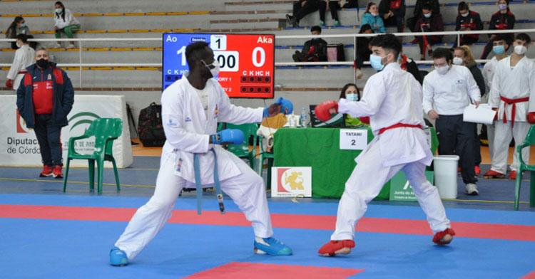 Dos competidores en uno de los muchos combates que se vieron en Palma del Río