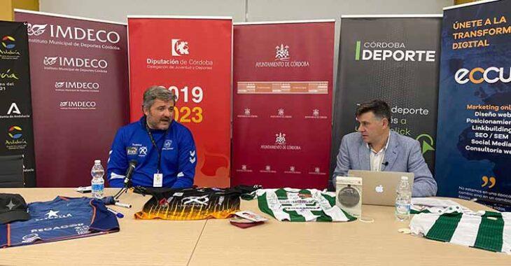 Paco Bustos durante su entrevista en la Gala Digital 20 Aniversario de Cordobadeporte.com.