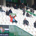 El cordobesismo en el último partido que pudo asistir a El Arcángel en enero ante el Getafe.