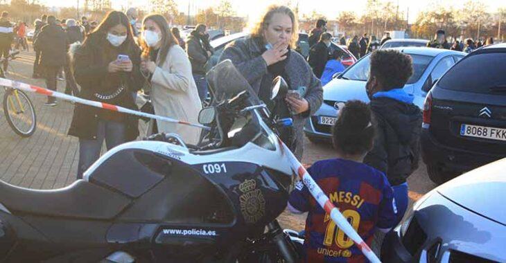 aficionados messi supercopa arcangel barcelona