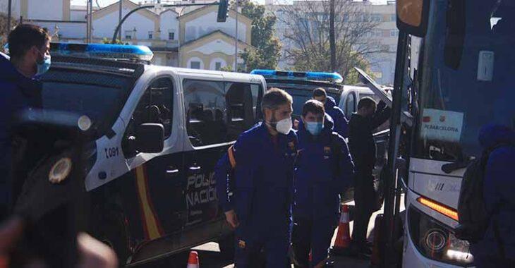 barcelona policia cordoba llegada