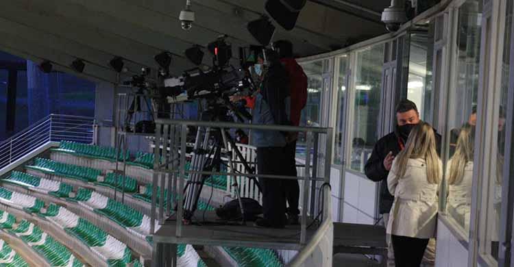 Las cámaras de televisión volverán a ser la única vía para ver el partido del Córdoba este domingo ante el Yeclano.
