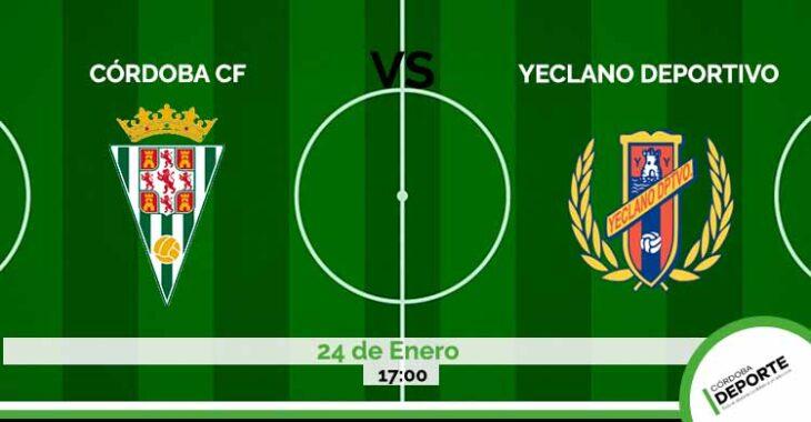 Sigue en directo el Córdoba CF vs Yeclano.