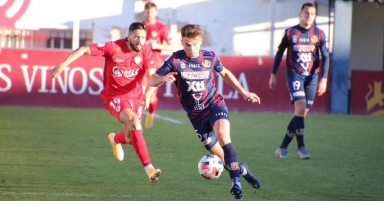 El cuadro murciano viene de empatar en casa contra el Linares. Foto: Pascual Aguilera / Yeclano Deportivo
