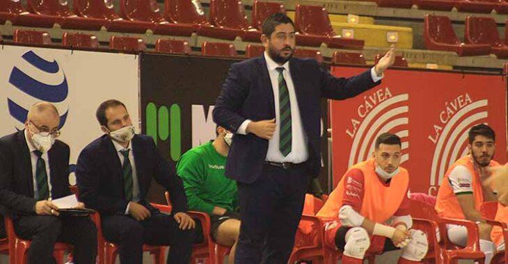Josan González durante el partido frente al Jaén Paraíso Interior