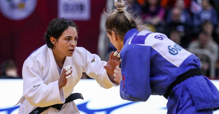 Julia Figueroa en una imagen de 2020. Foto: Federación Internacional de Judo