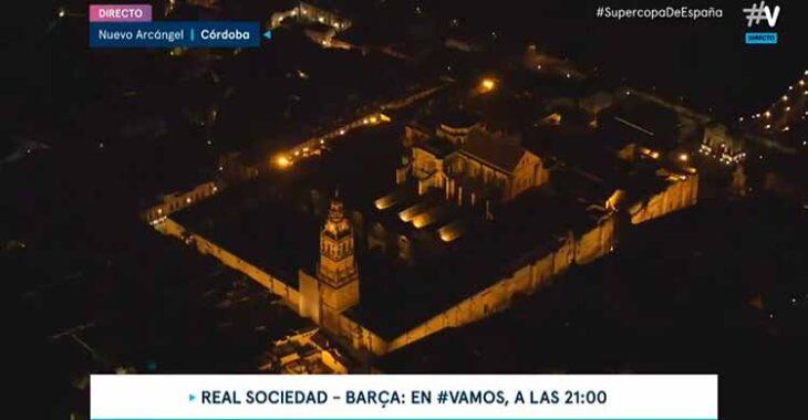 La vista aérea de la Mezquita - Catedral ofrecida por #Vamos.