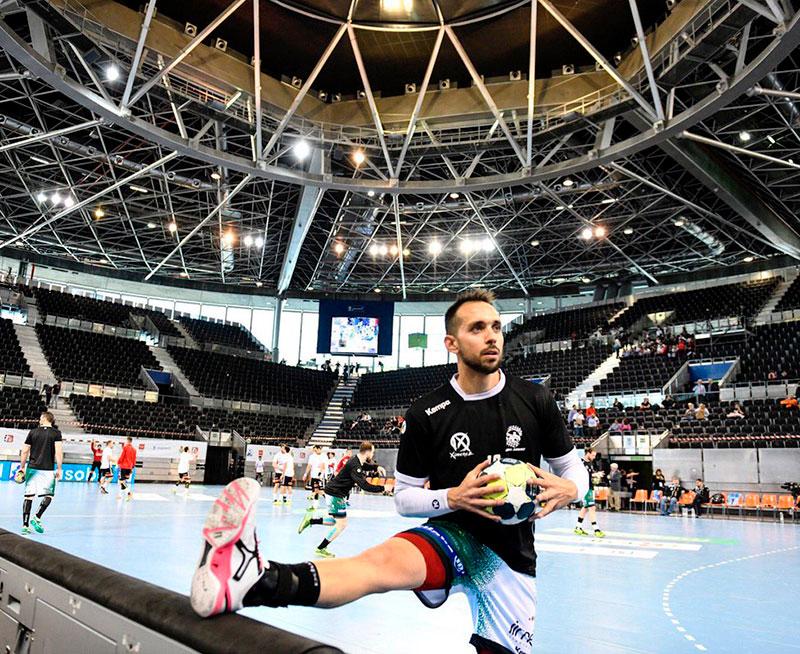 José Cuenca hace tres años en el Wizink Center de Madrid, a donde volverá con el Ángel Ximénez en la primera semana de marzo.