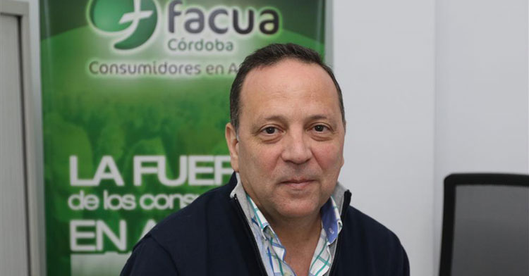 Francisco Martínez, presidente de FACUA Córdoba