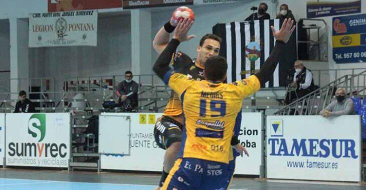 Sin fallo. El brasileño Joao Pedro firmó su mejor partido con el Ángel Ximénez.