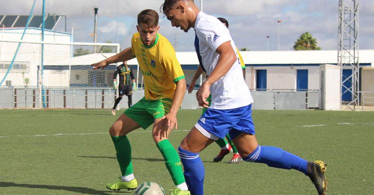 El equipo auriverde le devolvió al Atlético Onubense el 4-1 de la ida. Foto: Montilla CF