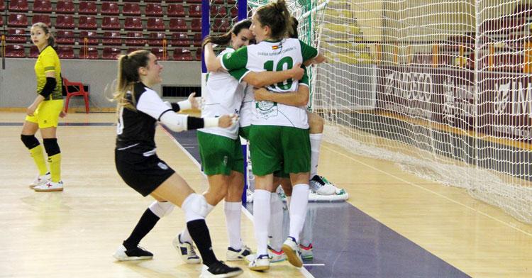 El Cajasur Deportivo celebrando uno de sus tantos esta temporada
