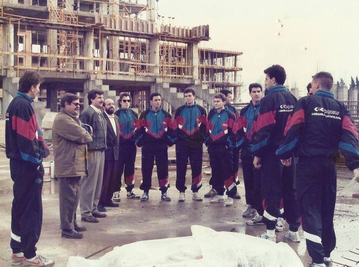 Una imagen de aquel plantel recordado de la temporada 1990-91. @CordobadeBM