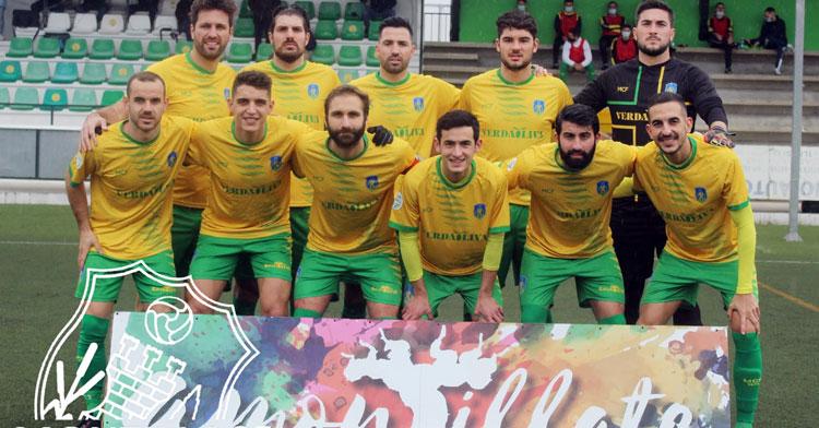 El Montilla culminó su éxito de la temporada 2020-21. Foto: Montilla CF