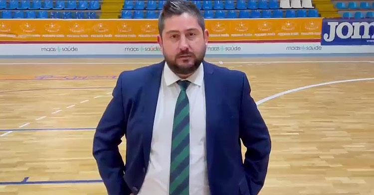 Josan González en su valoración del encuentro en Burela