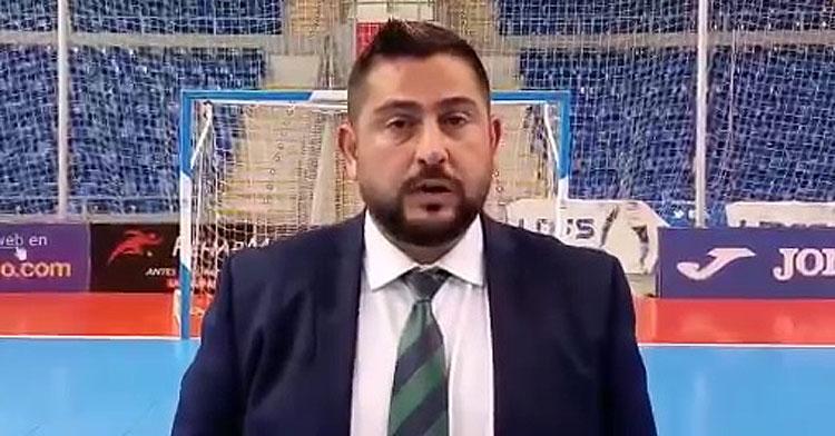 Josan González a la conclusión del partido.