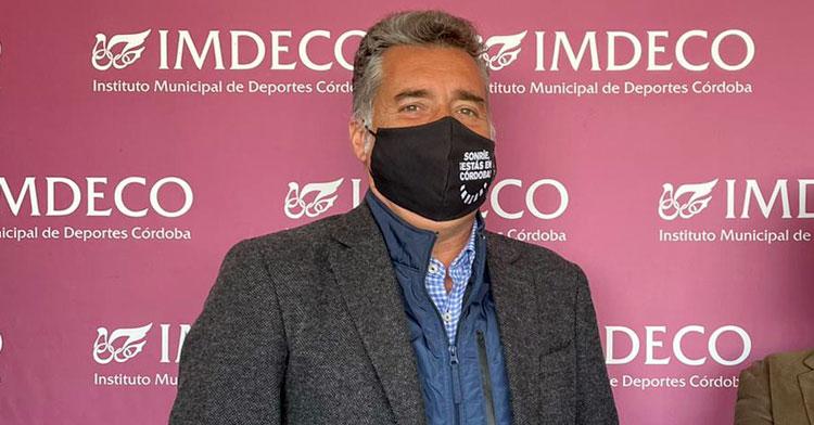 Manuel Torrejimeno, presidente del IMDECO