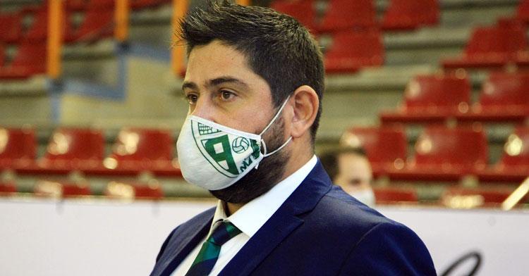 Josan González, blanquiverde hasta 2023. Foto: Córdoba Futsal