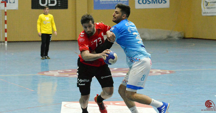 Aitor Gómez en un ataque ante el Sporting Alicante. Foto: CBM