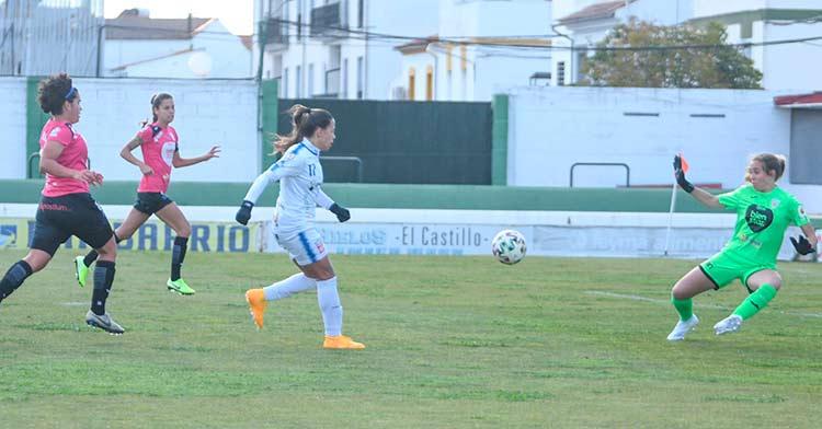 Un lance del Pozoalbense 0-1 Alhama.