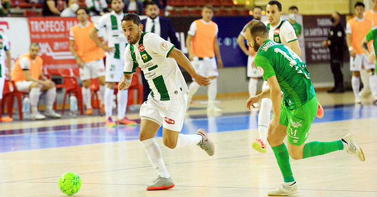 Caio César en el partido frente al UMA Antequera. Foto: Córdoba Futsal