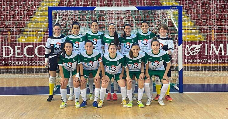 El Cajasur Deportivo Córdoba en el partido ante Alcantarilla (1-1)