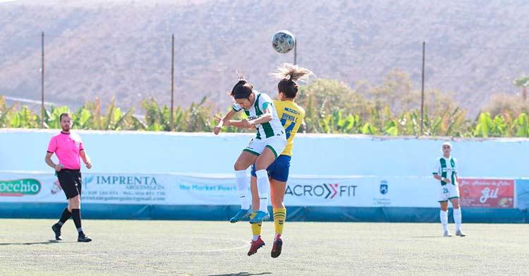 El Córdoba Femenino no respondió en Canarias. Foto: CD Femarguín