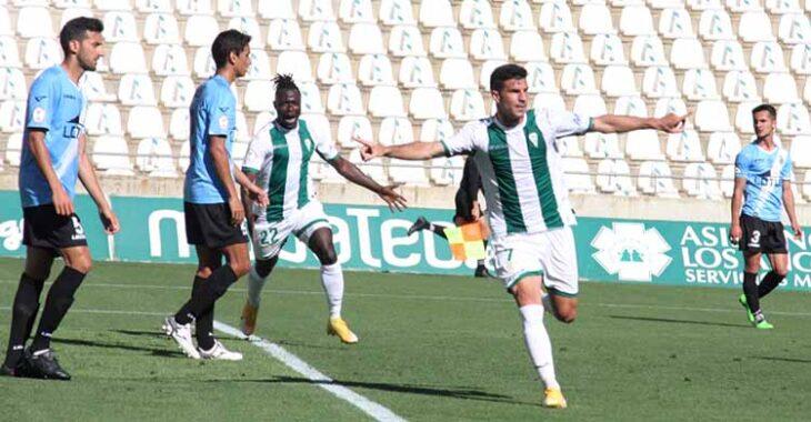 Willy celebrando otro gol en la primera parte que acabó siendo vano.