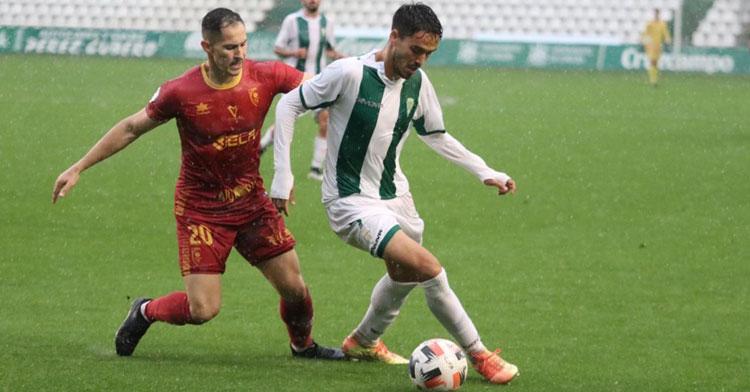 El Córdoba en su último partido en casa, ante el Antoniano. Foto: CCF