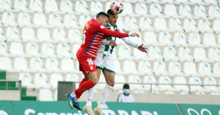El Recreativo Granada volverá a pisar El Arcángel en la temporada 2021-22. Foto: CCF