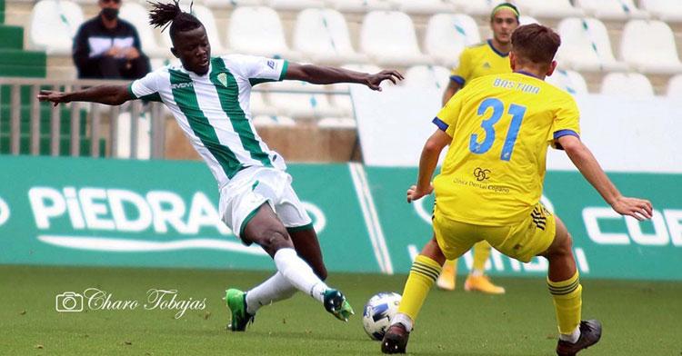 Djetei fue el jugador con más minutos esta temporada. Foto: Charo Tobajas / CCF