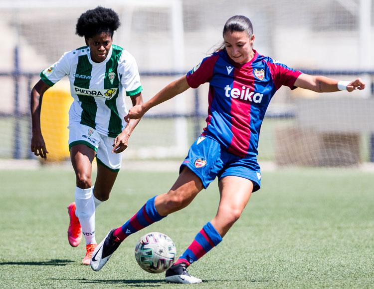 Natalia Mills, una de las jugadoras más destacadas del encuentro. Foto: Cantera Levante UD