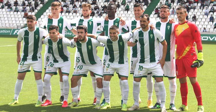 El último once de Segunda B del Córdoba CF.