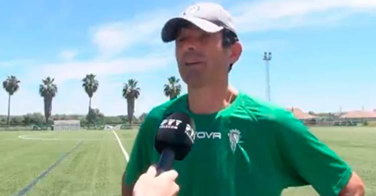 Roberto Ramírez en la entrevista en la que confirmó su adiós