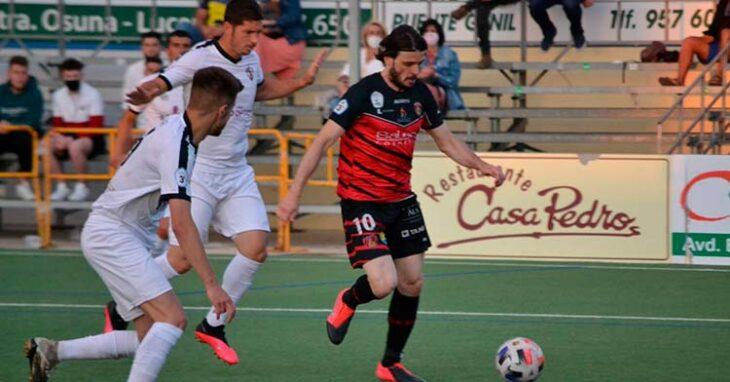 Migue García en el partido ante el Pozoblanco del play-off. Foto: Tino Navas / @SalermPG