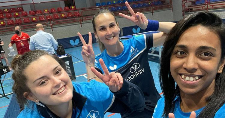 Las jugadoras del Vidrioservice acabaron con un buen balance la concentración casera de la Superdivisión