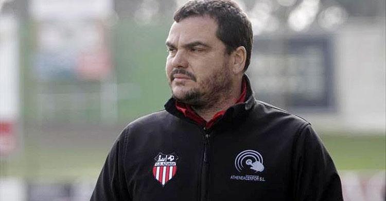 Antonio Jesús Cobos en su etapa en el Azuaga. Foto: @Radiogolex