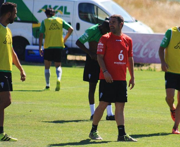Luis Carrión durante una sesión de entrenamientos en la Ciudad Deportiva.